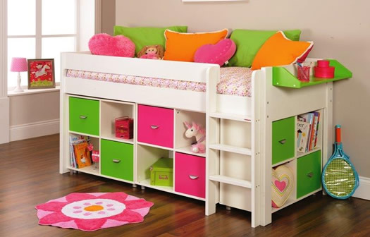 Cabin Bed with Multi Storage