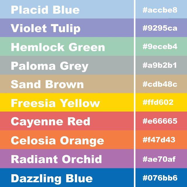 2014 Colours