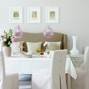 Blush Pink Accents Home