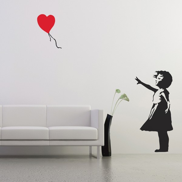 Banksy Ballon Girl