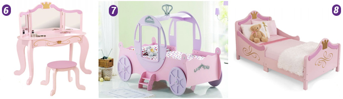 Pretty Princess Bedroom Theme