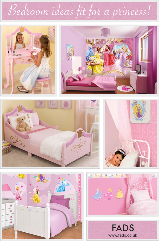 Ideas for your Princess Bedroom Theme
