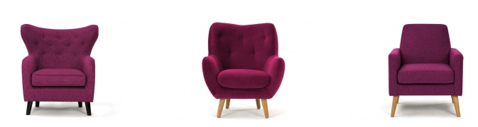aubergine purple chairs