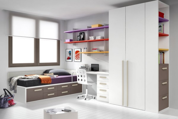 bright-kids-room-with-purple-yellow-orange-and-brown-colors