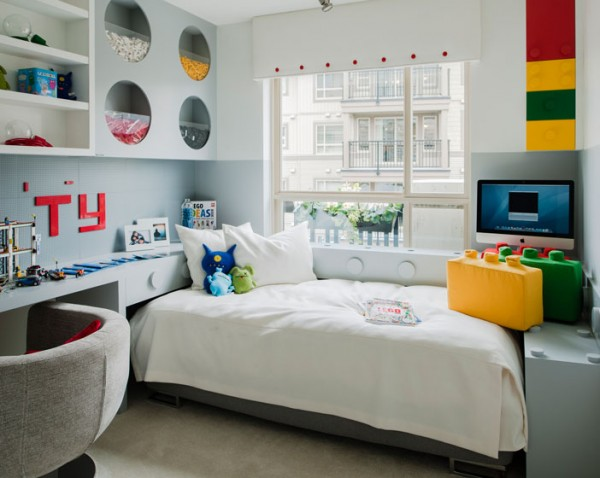 Storage ideas child bedroom. Flickr Creative Commons: Polygon Realty Limited