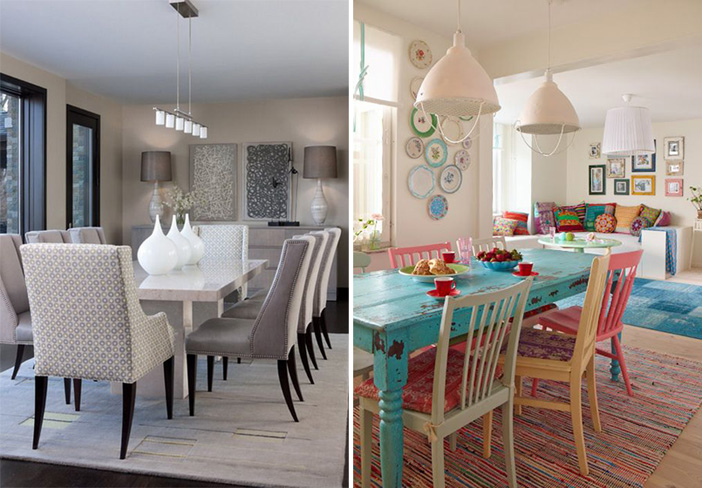 Dining chair inspiration. Image credits: sannaochsania.blogspot.fr and cainco.org