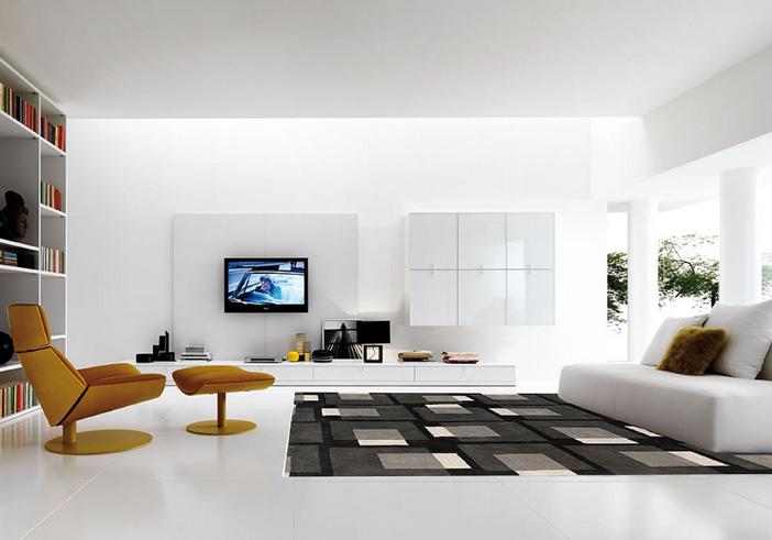 White on white interior design inspiration. Flickr creative commons credit: mattwalker69