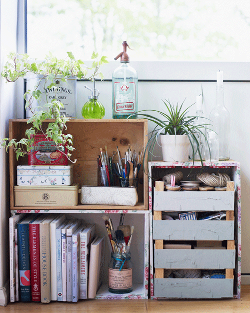 Crates-as-storage-from-Home-for-Now-by-Joanna-Thornhill
