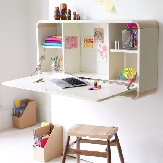 4 Fold Down Desk House To Home