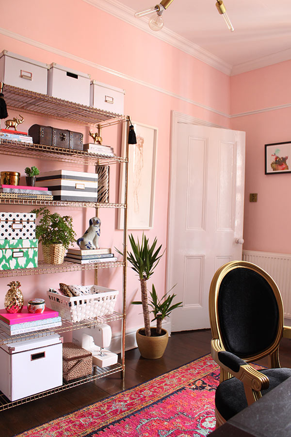 how to make pink chic in your home