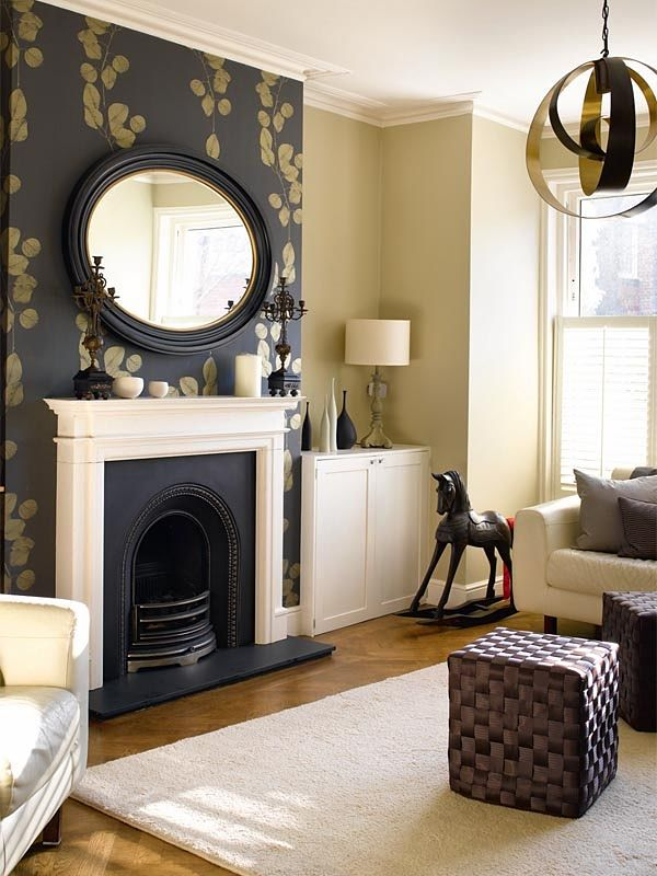 How to make a neutral colour scheme interesting fads for Neutral feature wall colours
