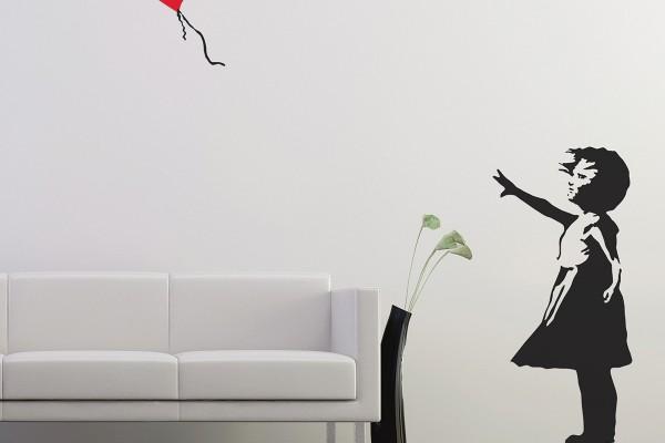 Banksy Ballon Girl