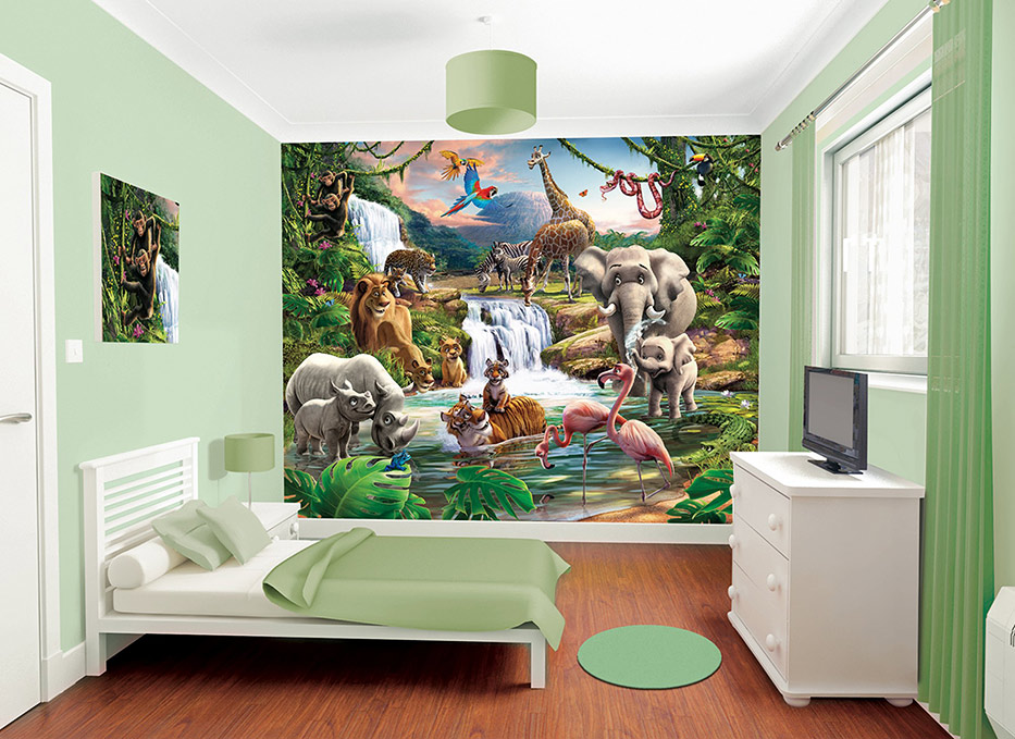 Jungle Themed Bedroom Ideas That Kids Will Love!
