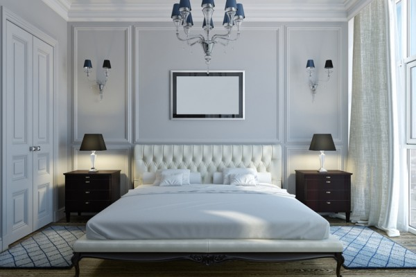 Tips for creating a calm bedroom space.