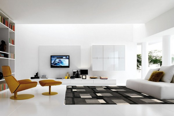 White on white interior design inspiration. Flickr creative commons credit: mattwalker69