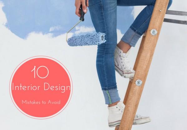 10 interior design mistakes to avoid