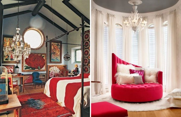 get the look dramatic red