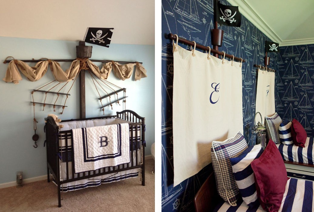 pirate bedrooms